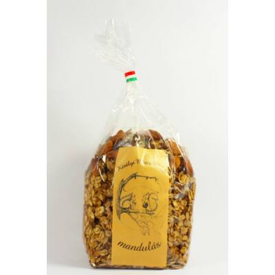 Királyi  mézes műzli - mandulás 400 g