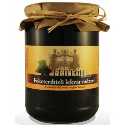 Fertődi feketeribizli lekvár cukorral és mézzel 400 g