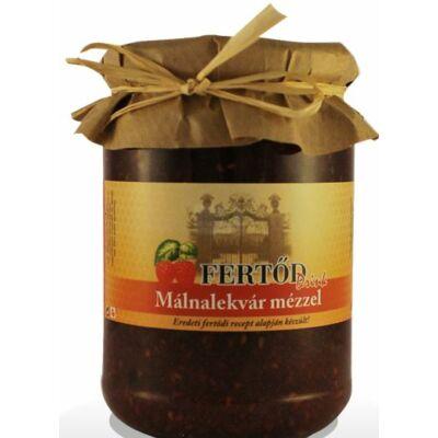 Fertődi málnalekvár cukorral és mézzel 400 g