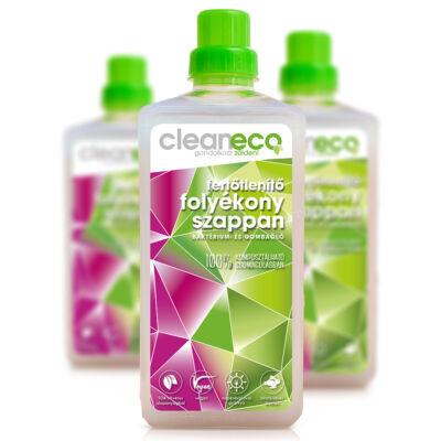 Cleaneco fertőtlenítő folyékony szappan 1 l